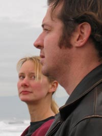 Jennifer Dean and Eric Rice in Commit Me To Memory at the Eureka Theater in San Francisco.